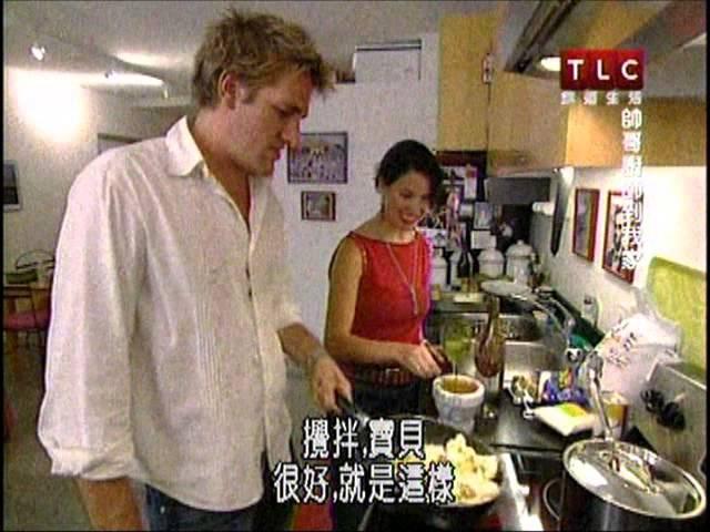 柯提斯 帥哥廚師到我家 咖哩花菜 番紅花煮白魚