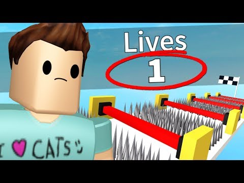 1 LIFE OBBY IN ROBLOX