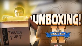 UNBOXING DE UNA CAJA GIGANTE | King's Cup II | PRIZEPOOL of $200,000 | Clash Royale
