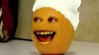 Annoying Orange Death-santa Claus Attack-gingerbread Man
