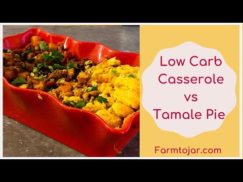 Low carb Mexican Casserole vs. Tamale Pie