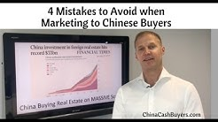 Selling Property To Chinese Investors Buying Real Estate and Expensive Mistakes to Avoid