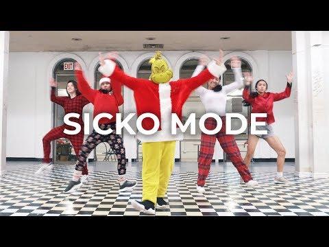 SICKO MODE - Travis Scott Drake Dance   besperon Choreography feat The Grinch