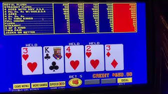 Double Bonus Poker - Video Poker - High Limit - $25/Spin