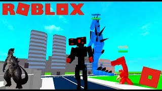 Roblox Godzilla Simulator - Cool Monster Game! (Destroy,Fight,Grow,Survive!)
