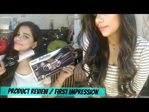 BABYLISS CURLER REVIEW / COMPARISON WITH PHILIPS CURLER | Sana K