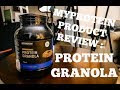 My Protein Product Review : Protein Granola