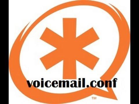 Configuración Asterisk - voicemail.conf 3/3