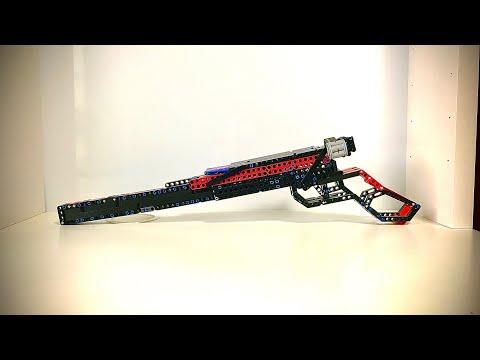 Lego Technic Sniper Rifle Working Shooting Mechanism Youtube