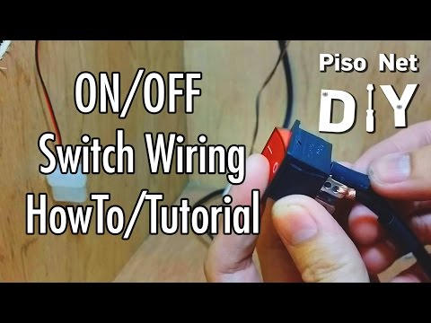 Pisonet DIY: ON/OFF Switch Wiring Tutorial [Tagalog]