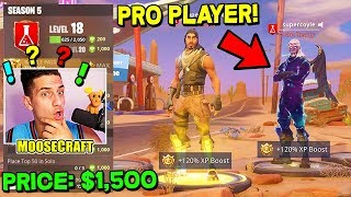 "I paid a Fortnite ""PRO"" $1,500 to get me a WIN!"