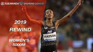 Women's 5000m - Wanda Diamond League 2019