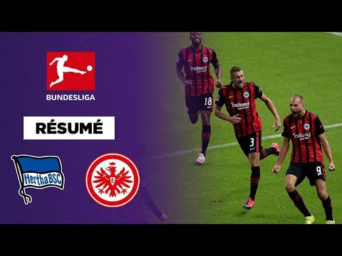 Résumé - Bundesliga : Francfort met le Hertha Berlin au tapis !