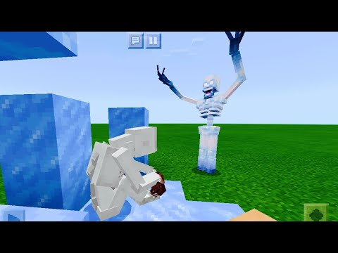 Scp 096 Vs Scp 096 Js In Minecraft Pe Youtube