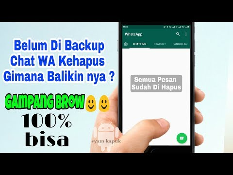 How To Restore Deleted Whatsapp Chat Before Backup