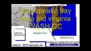 UFOS SEARCH chesapeake bay Ocean