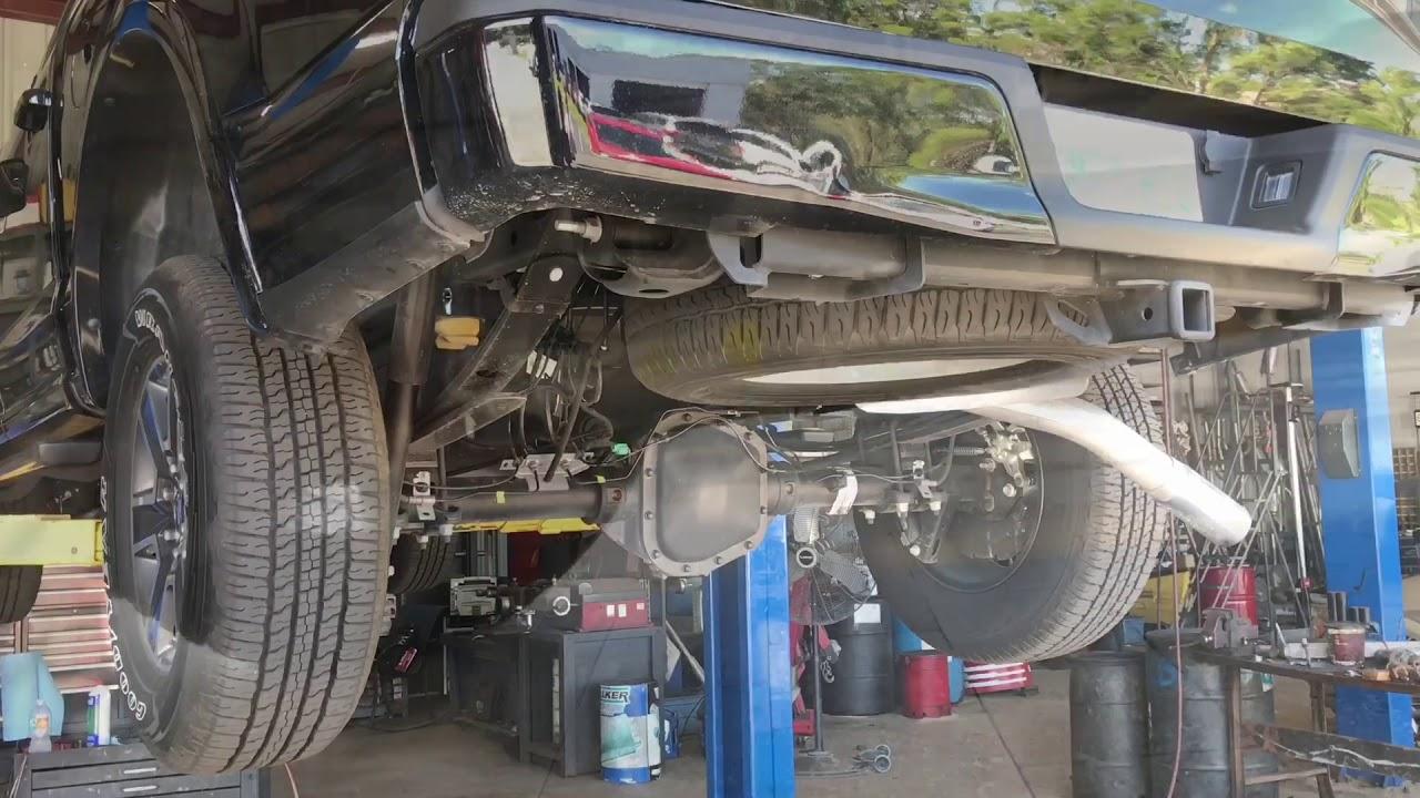 Ford F  Liter Ecoboost Muffler Delete