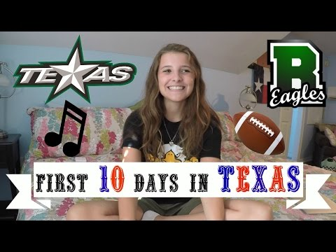 FIRST 10 DAYS IN TEXAS - exchange year USA 2016/17 || Sara Guggi