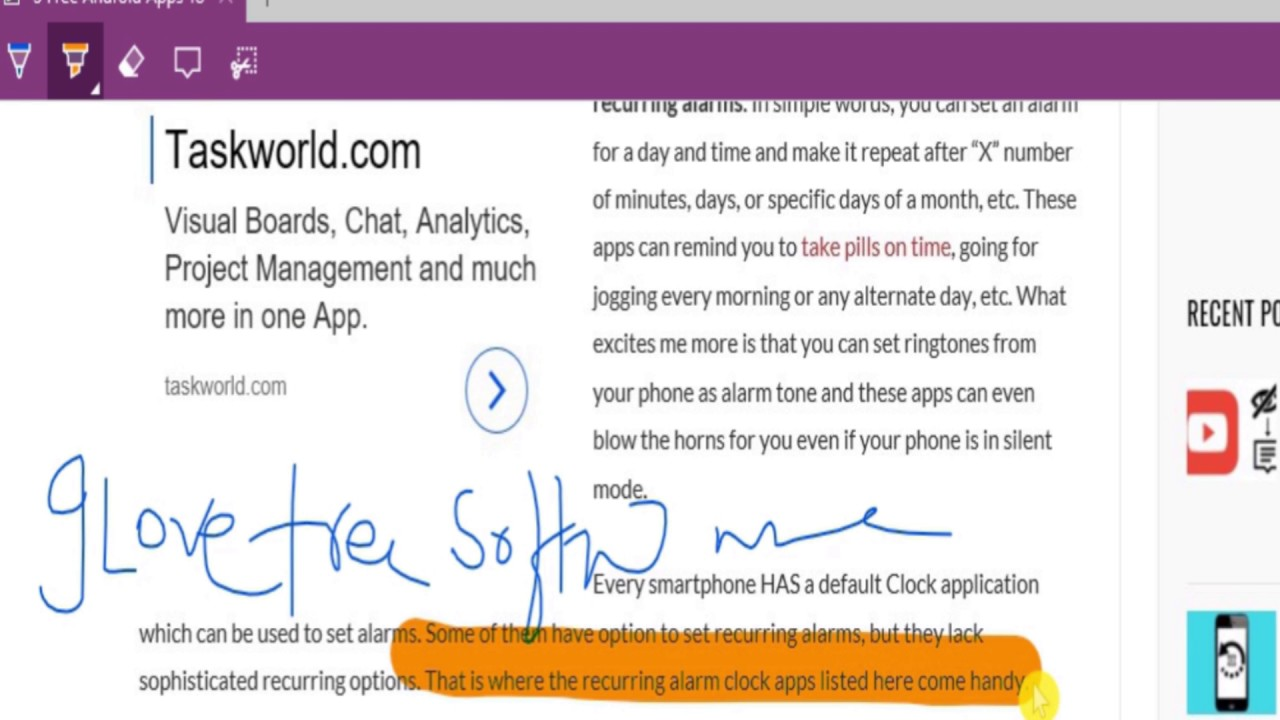 How To Annotate A Webpage Using Ms Edge