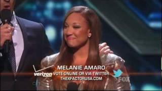 The X Factor 2011   Top 12   Melanie Amaro
