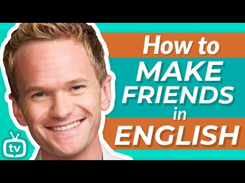 English For Making Friends | How I Met Your Mother