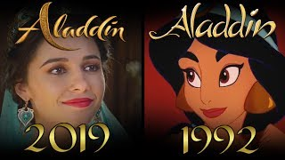 ALADDIN Trailer Comparison SHOT BY SHOT MP3