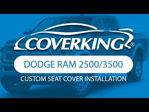 How to Install 2011-2018 Dodge RAM 2500/3500 Custom Seat Covers| COVERKING®