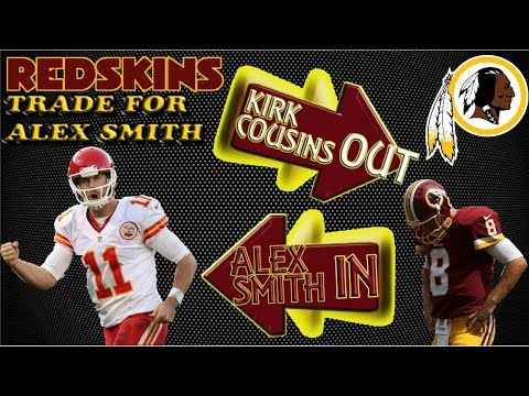 NFL BOMBSHELL: REDSKINS TRADE FOR ALEX SMITH & REACTION TO LOSING KENDALL FULLER 🏈🏈🏈#LouieTeeLive