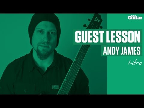Andy James guest lesson - solo 1/intro (TG241)