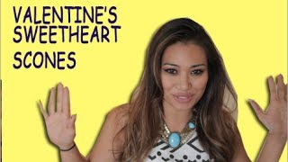 Valentine's Day Sweetheart Scones Diy!