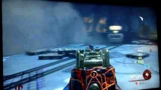 Black Ops 2 Zombies: Alcatraz( Mob of the Dead)Gameplay! +Plane Fail and Golden Gate Bridge Gameplay