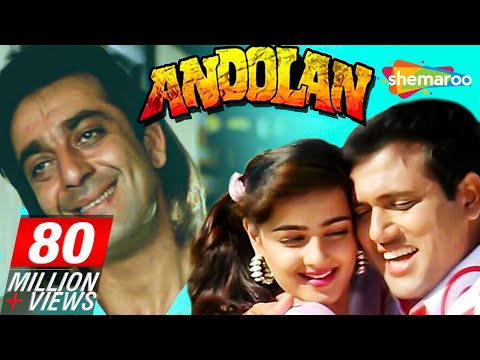 Andolan - Sanjay Dutt - Govinda - Mamta Kulkarni - Hindi Full Movie