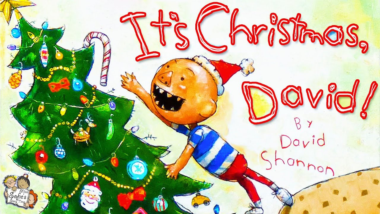 Download IT'S CHRISTMAS, DAVID! KIDS BOOKS READ ALOUD | 🎄 CHRISTMAS BEDTIME STORY | BY DAVID SHANNON