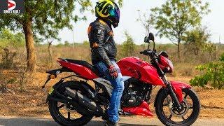 Apache RTR 160 4V ABS Review Top Speed Braking Test MotoVlog #Bikes@Dinos