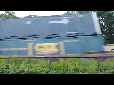 Live Streaming CSX Intermodal Train Eastbound