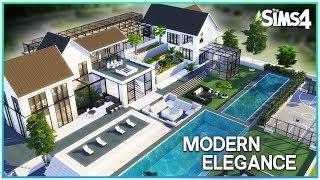 Modern Elegance Mansion [No CC] - Sims 4 Speed Build   Kate Emerald