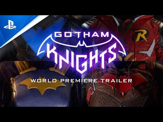 Gotham Knights - World Premiere Trailer   PS4, PS5