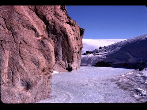 McMurdo Dry Valleys. Drink Blood Falls. Antarctica.