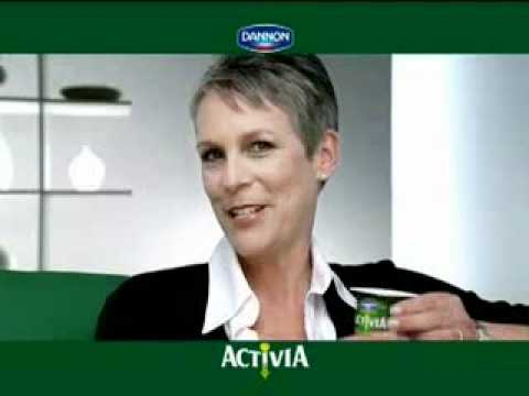 """The """"Real"""" """"Real''Jamie Lee Curtis ACTIVIA commercial"""