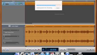 how to slow down a song in garageband 11
