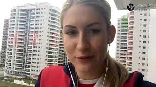 Влада Бобровникова: привет из Рио!