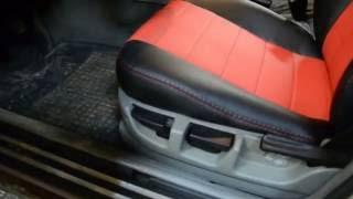 видео Авточехлы на HYUNDAI S-COUPE