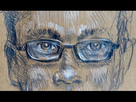Ganz einfach zeichnen lernen 19: Porträt mit BRILLE