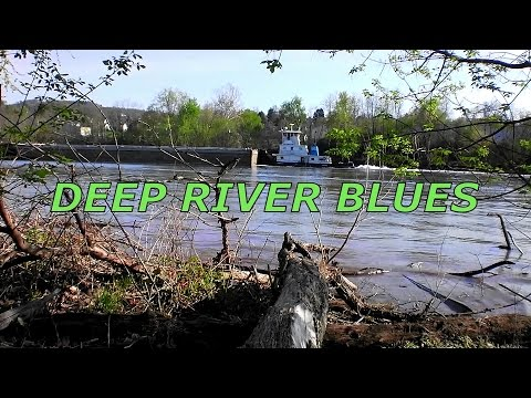 Deep River Blues - Monongahela River Barge - Dan Cunningham