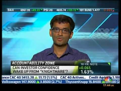 Man vs. Computer - High Frequency Trading (CNBC)