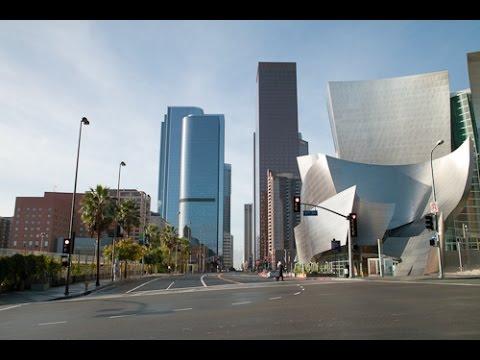 A Walk Down Grand Avenue, Downtown Los Angeles