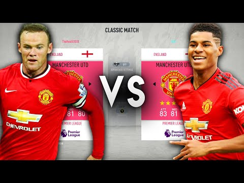 2020 Manchester United VS 2010 Manchester United - FIFA 20 Experiment