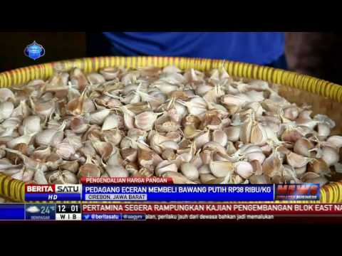 Harga Bawang Putih di Cirebon Lebih dari HET Pemerintah