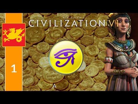 Let's Play Civilization 6 Economical Egypt [1] - Money, Money, Money!