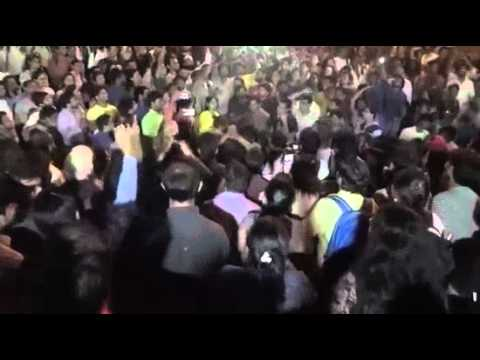 Azadi slogans at JNU's Freedom Square, led by Kanhaiya